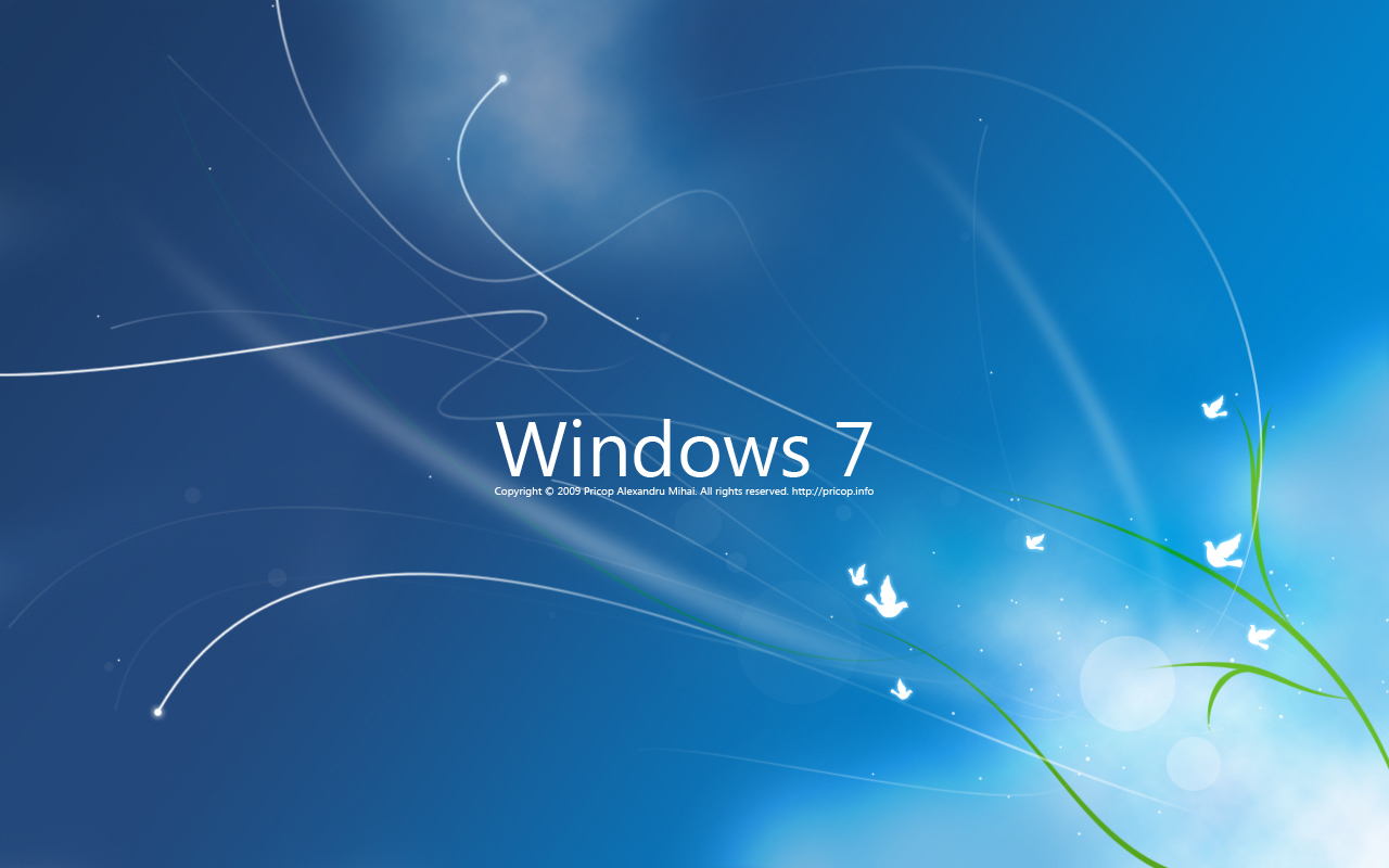 Wallpapers windows seven 1280 800 the cluster - Hd wallpapers for windows 7 1366x768 nature ...